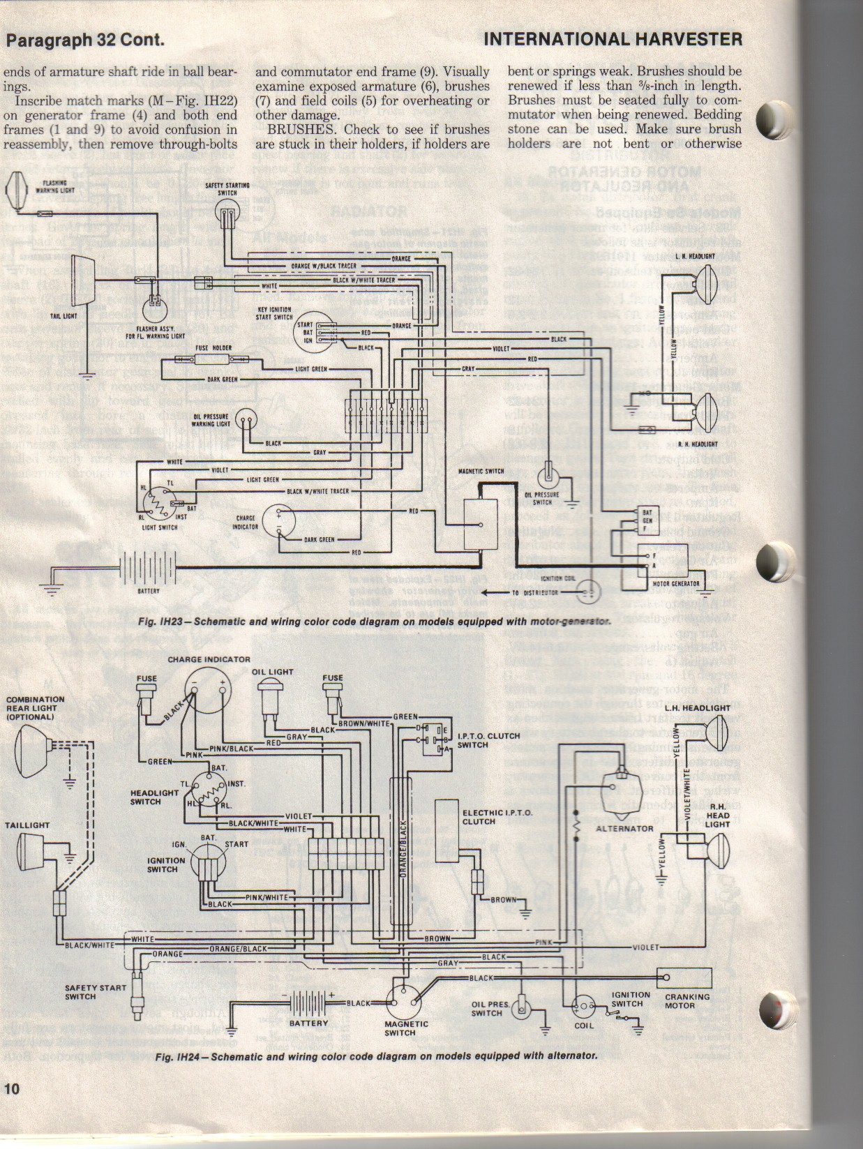 Famous 1950 Farmall Cub Wiring Diagram Photos - Electrical Diagram ...