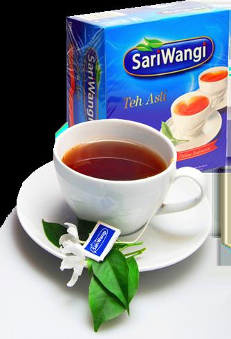 manfaat teh sariwangi untuk keluarga