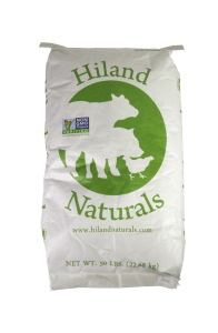 Hiland Naturals Non GMO feeds available at Farmers Coop
