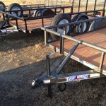 Texas Bragg Trailers at Farmers Coop