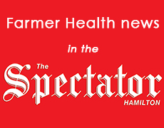 Farmer health news in The Hamilton Spectator
