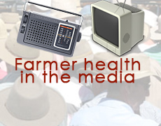 Farmer health in the media