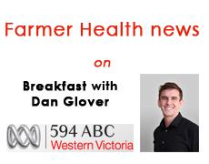 Farmer Health news on Breakfast ABC 594 Radio