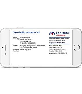 Automobile insurance application