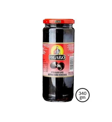 Figaro Pitted Black Olive(340gm)
