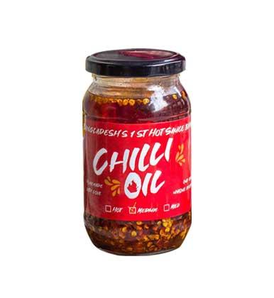 I am the NAGA's Chili Oil