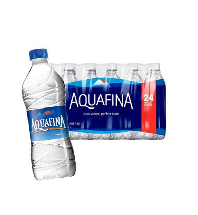 Aquafina water
