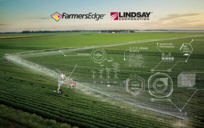 Lindsay Corporation and Farmers Edge Announce Global Partnership to Accelerate Digital Transformation on the Farm