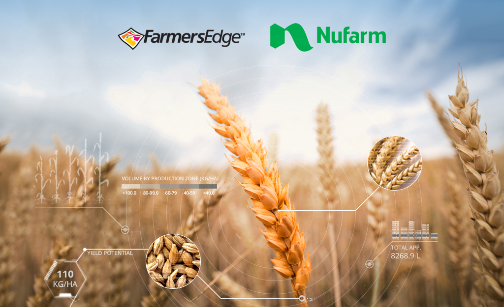 Farmers Edge and Nufarm Announce Strategic Alliance to Deliver Industry-Leading Decision Agriculture Solutions Globally