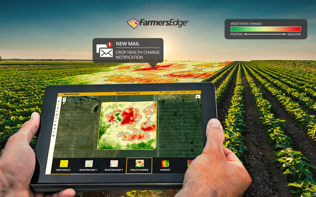 Farmers Edge Releases the Industry's First Automatic Crop Health Change Detection Tool Highlighting the ROI of Daily Satellite Imagery