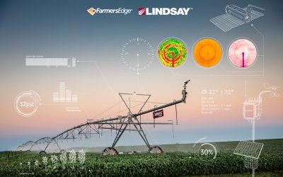 Lindsay and Farmers Edge Expand Digital Partnership to Connect Two Million Irrigated Acres by the End of 2021