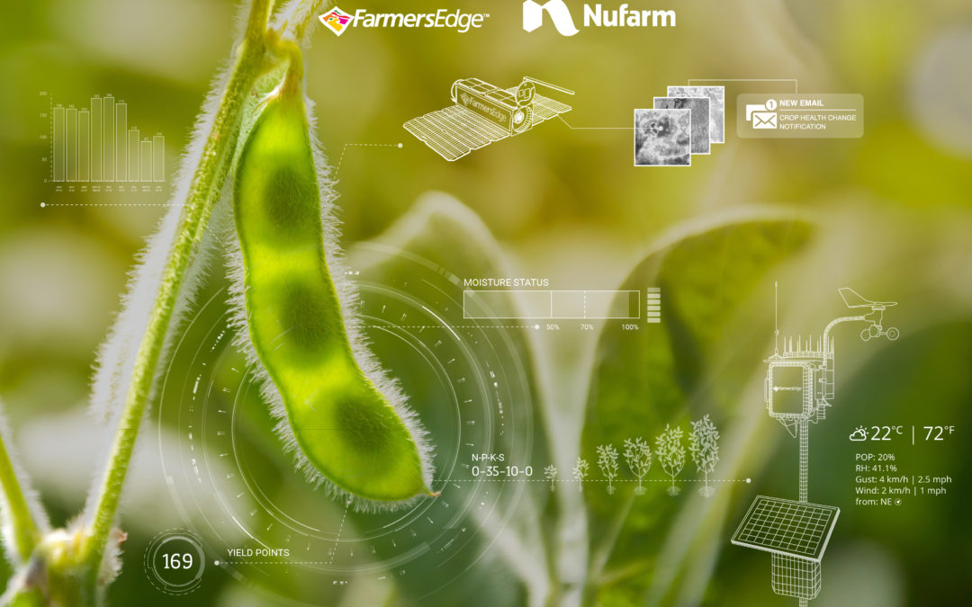 Farmers Edge and Nufarm Brasil Strike Landmark Partnership to Digitize Three Million Acres of Farmland in Brazil by 2023