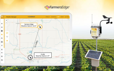 Assessing Frost Risk Using Farmers Edge Advanced Weather Network