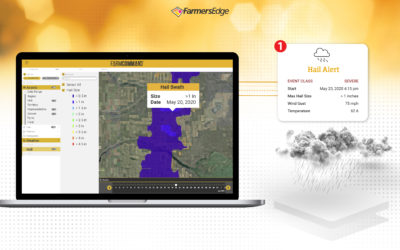 Farmers Edge Announces New Automated Hail Detection and Reporting Technology for Growers and Insurance Professionals