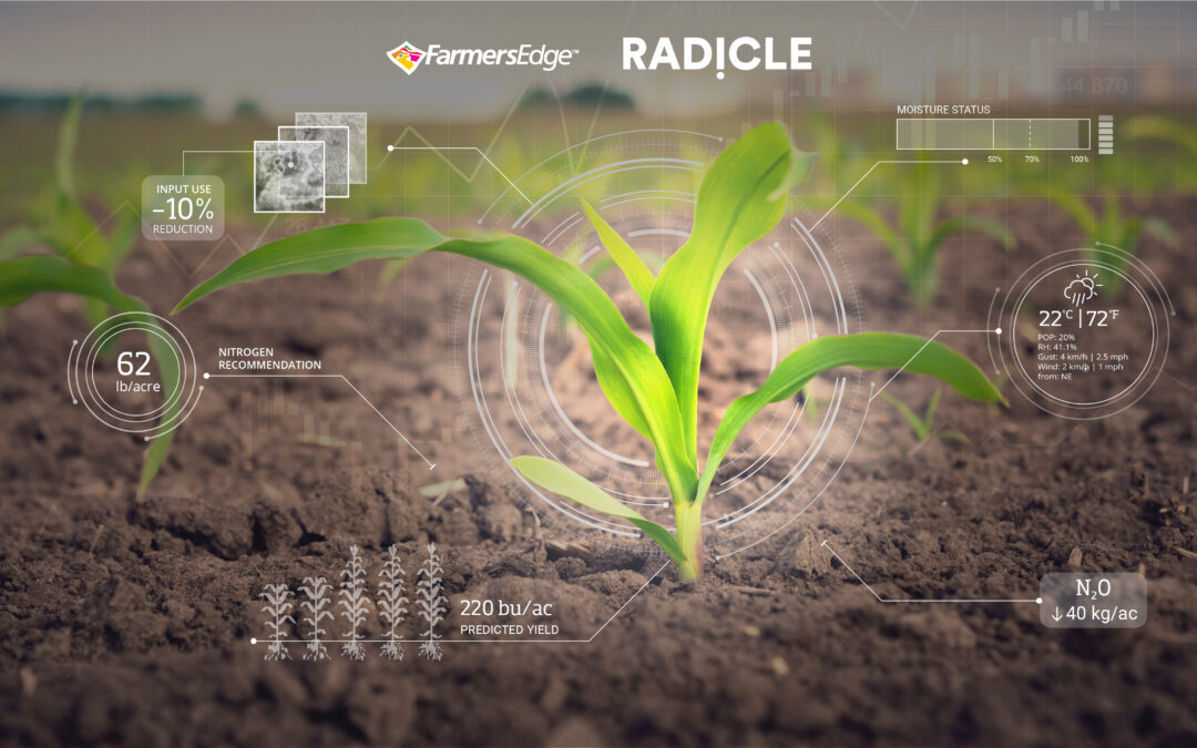 Farmers Edge Partners with Radicle to Deliver New High-Tech Carbon Credit Program