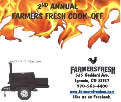 Looking for Contestants for the 2nd Annual Farmer's Fresh Cook-Off