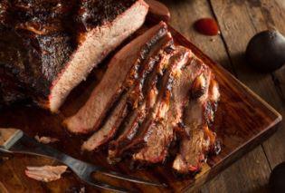 Brisket, meat, Smoked