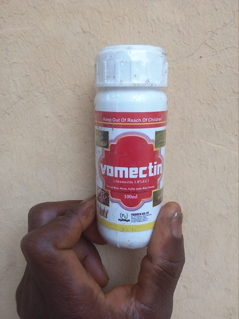 Vomectin insecticide contains Abamectin, 1.8% EC