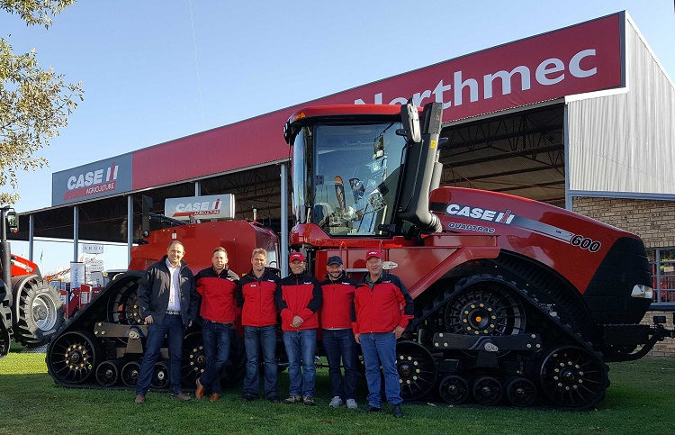 Case IH showcased its full line of equipment at the Nampo Harvest Day 2016