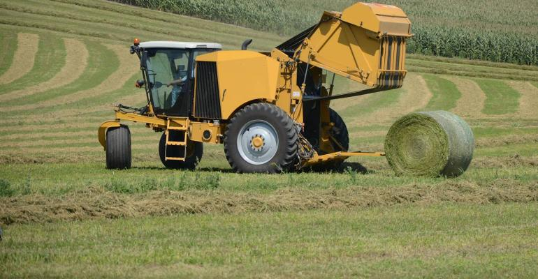 Vermeer introduces the world's first self-propelled round baler