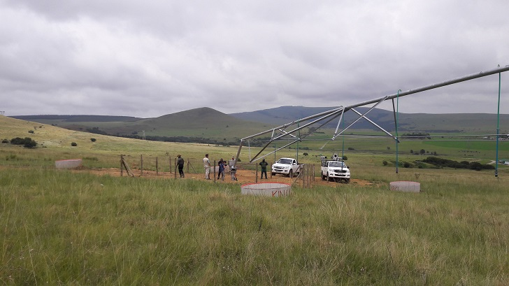 Bosch Munitech's irrigation system construction services for emerging farmers