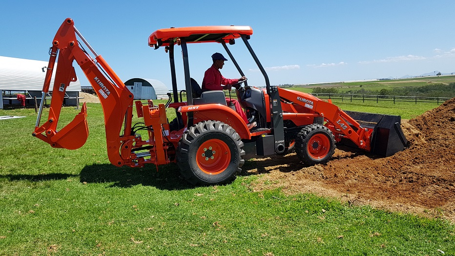 Kubota L45 a natural choice for 2Hire
