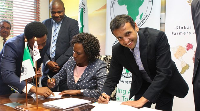 AFDB signs over $200m to ETC in a bid to promote agriculture in the continent