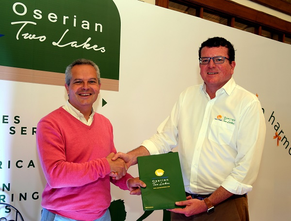 Oserian Two Lakes Flower Park signs new France flower breeder