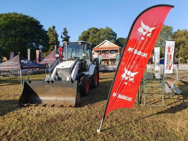 Powasol ExtremeX at Royal Agricultural Show a roaring success thanks to Bobcat B730 TLB