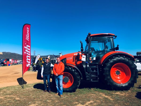 Smith Power showcases most powerful Kubota tractor in South Africa