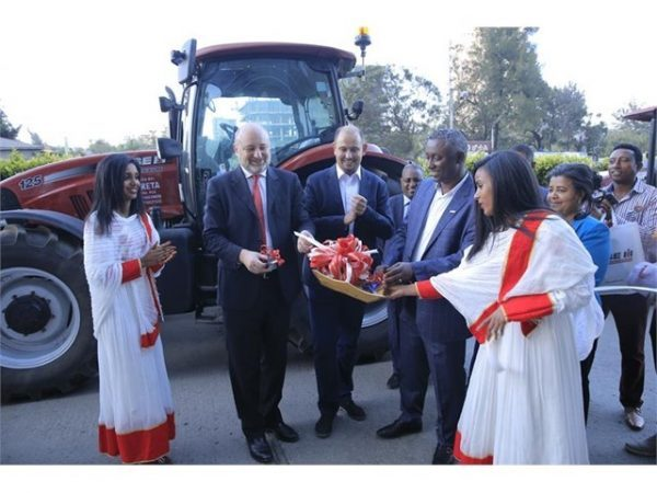 Ceremony in Addis Ababa celebrates the appointment of Wereta International Business PLC as Case IH distributor for Ethiopia