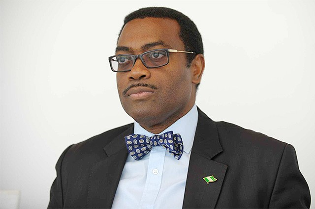 'Agriculture is the most important business in the world,' African Development Bank President Akinwumi Adesina tells students