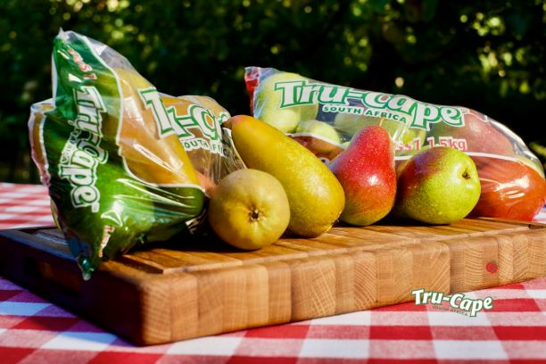 Two pears feature in Tru-Cape's current promotional basket