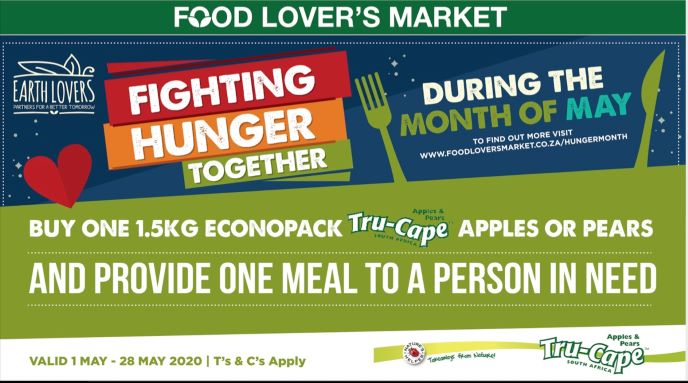 Food Lover's Market and partners raise over 1 million meals to feed vulnerable South Africans during COVID-19 lockdown
