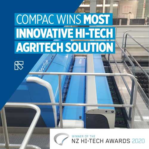 Compac's UltraView inspection module wins Hi-Tech Award