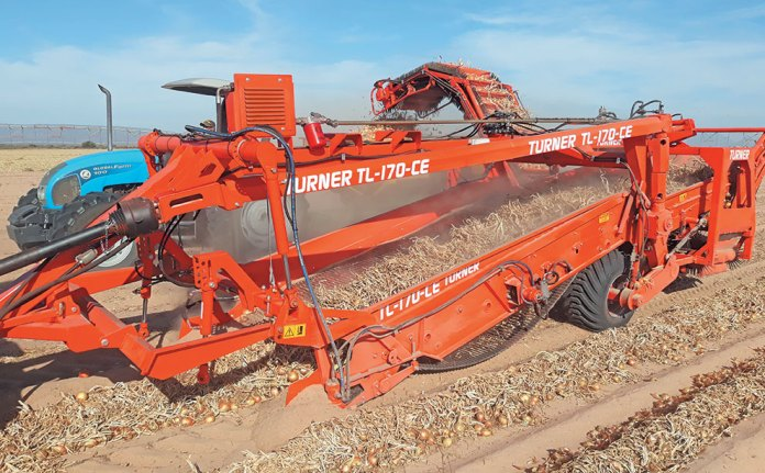 TL-170-CE onion lifter