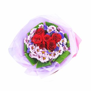 tricia 2 bouquet by farm florist singapore