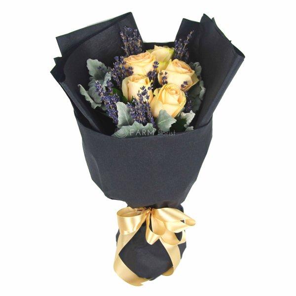 Magdeline Bouquet by Farm Florist Singapore