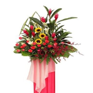 Celebration Congratulatory Flower Stand