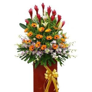 Fortune Congratulatory Flower Stand
