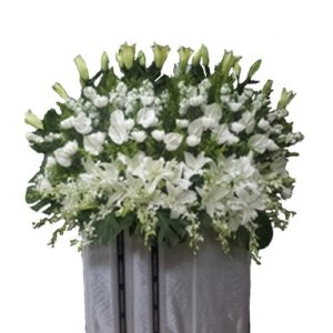 Strength Condolence Flower Stand