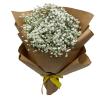 Baby Breath Bouquet by Farm Florist
