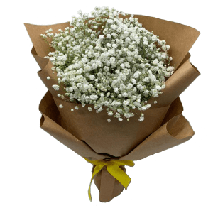 Baby Breath Bouquet by Farm Florist