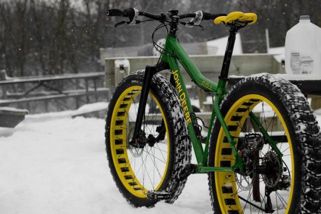 Bicicleta John Deere