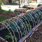 30FT-Long-Agfabric-Hoop-House-Kit-Mini-Greenhouse-Grow-Tunnel-kits-09oz-Row-Cover-And-Heavy-duty-Double-Hoops-0