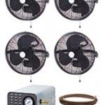 Advanced-Misting-Systems-MEDIUM-PRESSURE-Mist-Pumps-300psi-18-4-Fan-Wall-Mount-0
