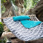 Algoma-11-ft-Cotton-Rope-Hammock-with-Metal-Stand-Deluxe-Set-0