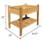 Arboria-EZ-Plant-Cedar-Elevated-Garden-Bed-0