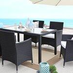 Baner-Garden-7-Pieces-Outdoor-Furniture-Complete-Patio-PE-Wicker-Rattan-Garden-Dining-Set-Full-Black-0