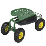 Best-Choice-Products-Garden-Cart-Rolling-Work-Seat-With-Tool-Tray-Heavy-Duty-Gardening-Planting-New-0